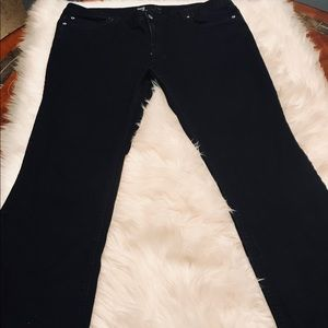 Mossimo Curvy Fit Boot Cut Black Jeans
